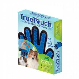 دستکش شانه و ماساژ سگ و گربه تروتاچ